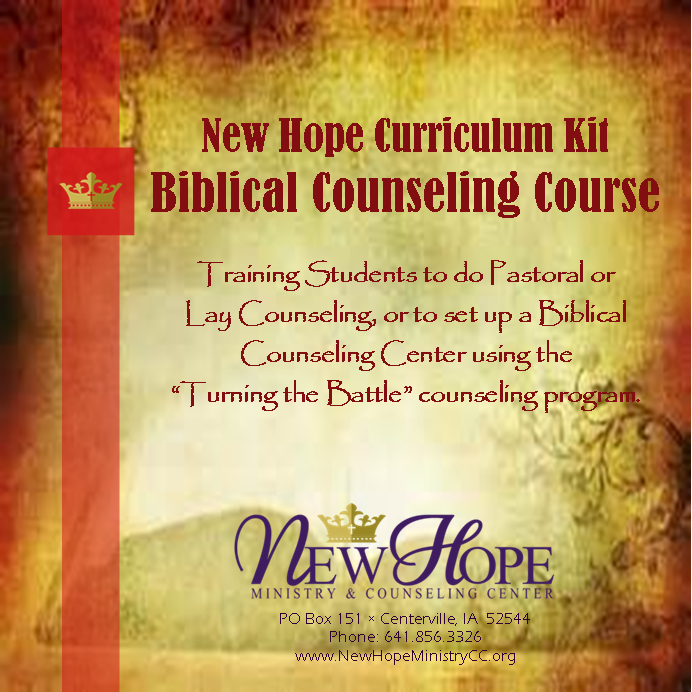 Bible College/Seminary Curriculum Kit – Biblical Counseling Course