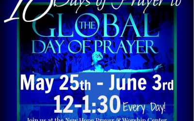 10 Days of Prayer Leading to Global Day of Prayer